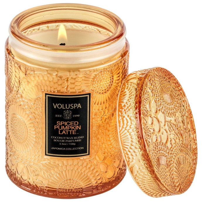 Voluspa Spiced Pumpkin Latte Small Jar Candle - Sublime Clothing Boutique