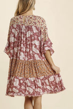 Load image into Gallery viewer, Golden Rule Boho Dress