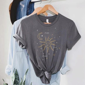 Moon. Sun. Stars. Tee - Sublime Clothing Boutique