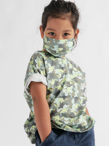 Kids Printed Face Mask - Sublime Clothing Boutique