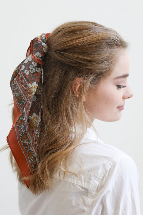 Fall Floral Bandana - Sublime Clothing Boutique