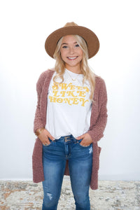 Sweet Like Honey Tee - Sublime Clothing Boutique