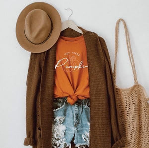 Hey There Pumpkin Tee - Sublime Clothing Boutique