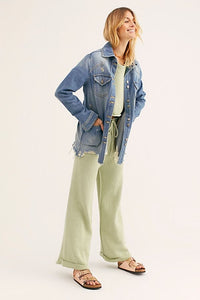 Free People Moonchild Denim Jacket