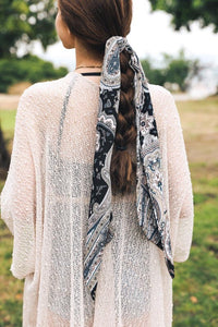 Perfectly Paisley Satin Scarf - Sublime Clothing Boutique