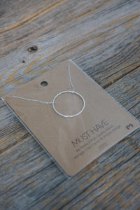 Circle Karma Necklace