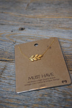 Load image into Gallery viewer, Leaf Necklace - Sublime Clothing Boutique