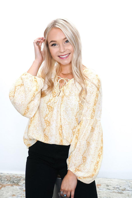Iconic Moves Blouse - Sublime Clothing Boutique
