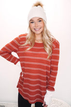 Load image into Gallery viewer, Mayfield Stripe Waffle Top
