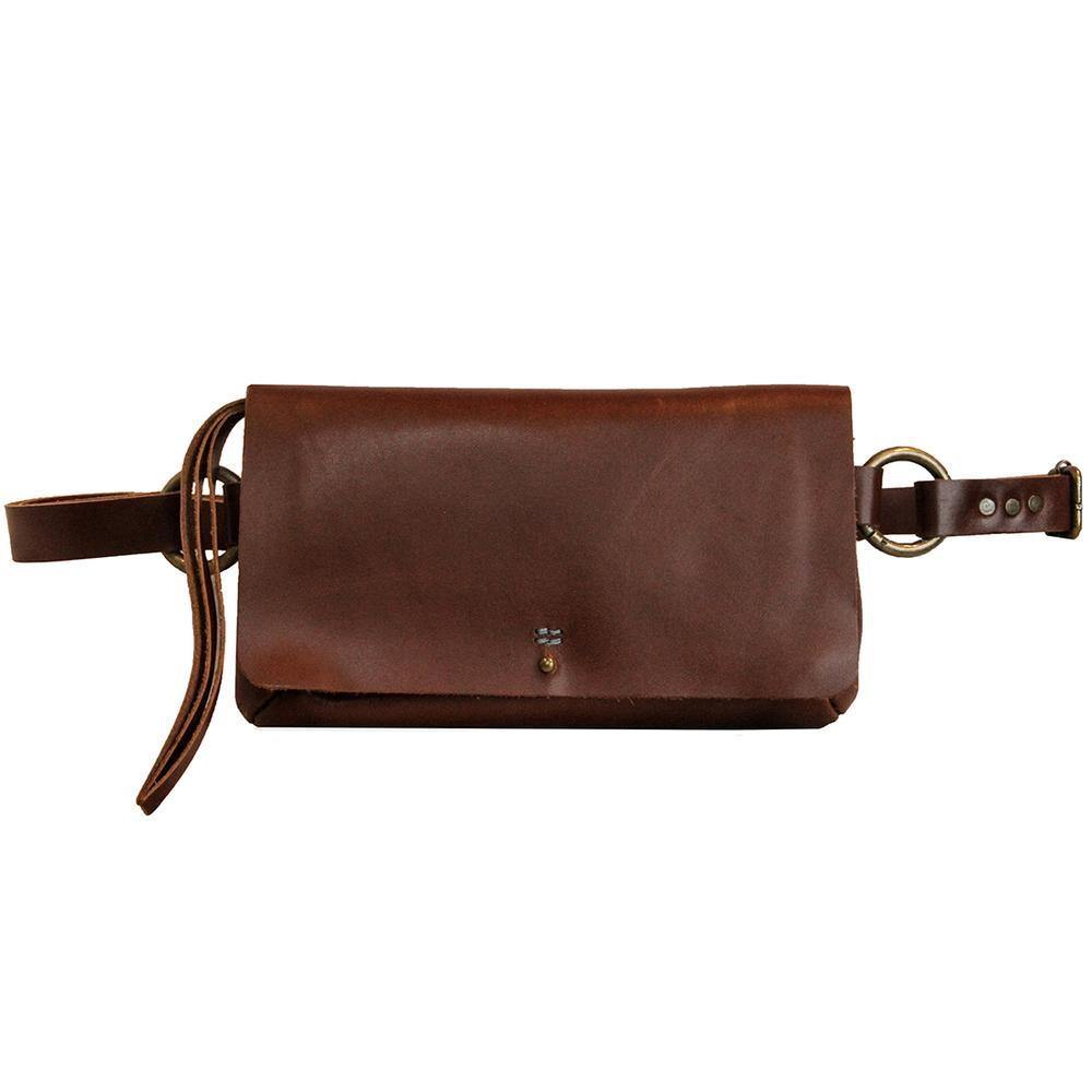 Amelia Handmade Leather Sling Bag | Belt Bag | Clutch - Sublime Clothing Boutique