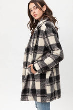 Load image into Gallery viewer, Love You Sheerly Plaid coat - Sublime Clothing Boutique