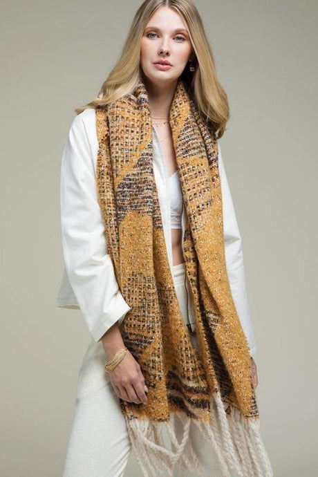 Worth The Tassle Scarf - Sublime Clothing Boutique