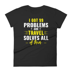 '99 Problems'   Fitted Tee