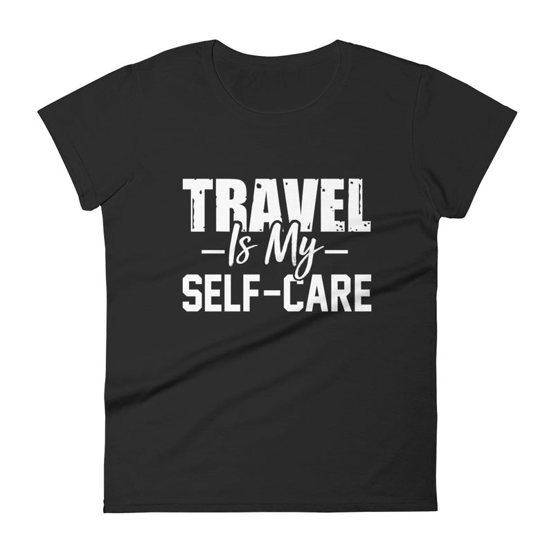 'Self - Care'   Fitted tee