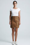 Marley Mini Skirt Cognac