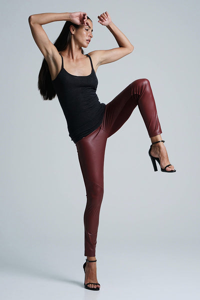 HOPE LEGGINGS MERLOT