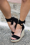 Felicity Wedges Black