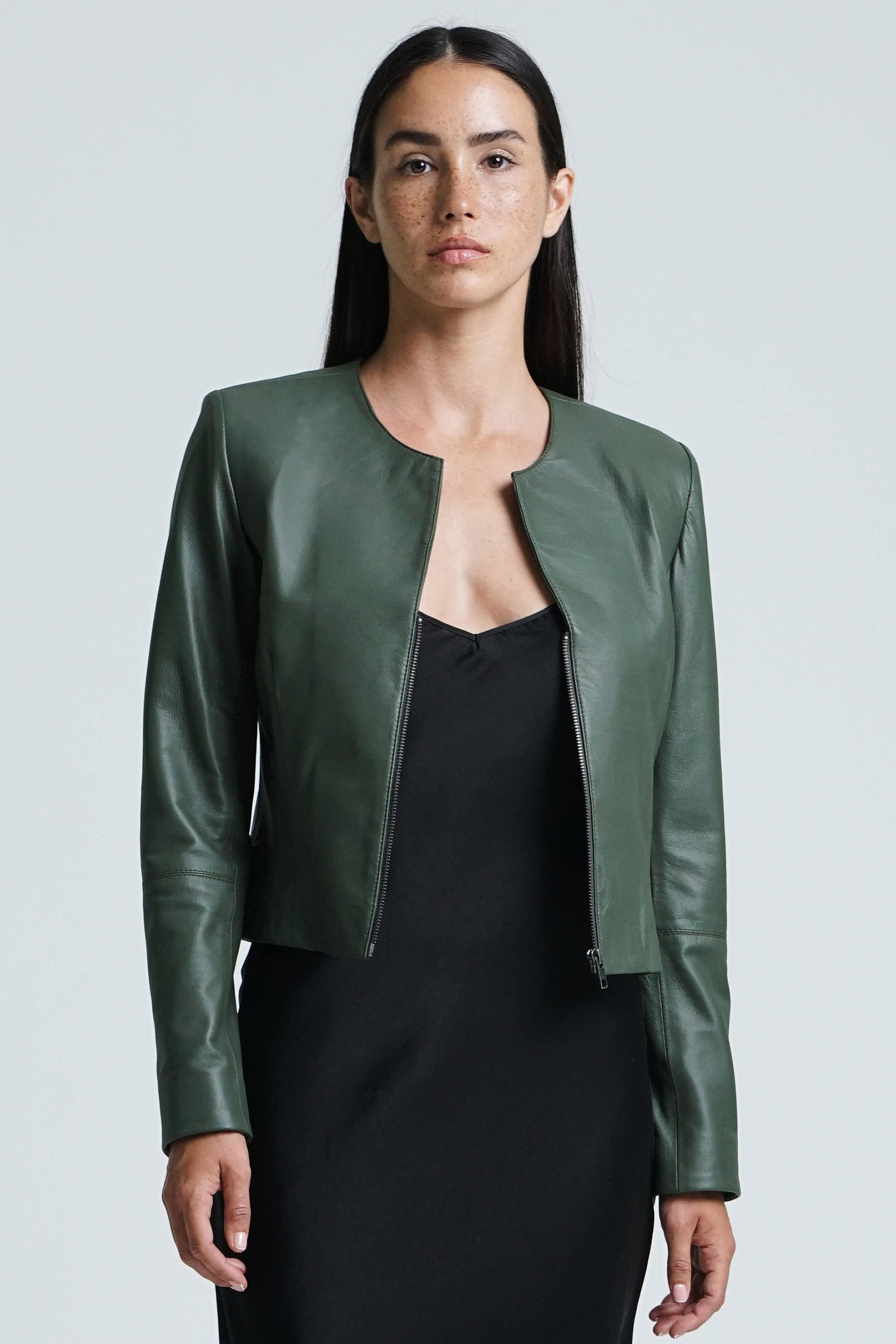 Capri Jacket Olive Green