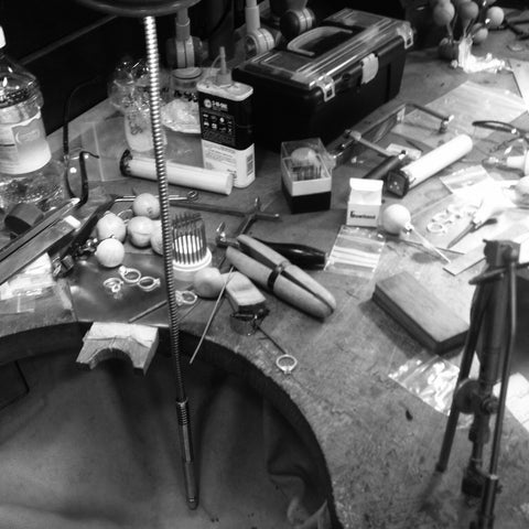 jewellers work bench