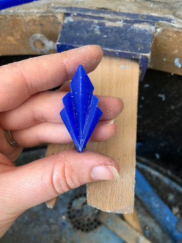 wax carving geometric shapes