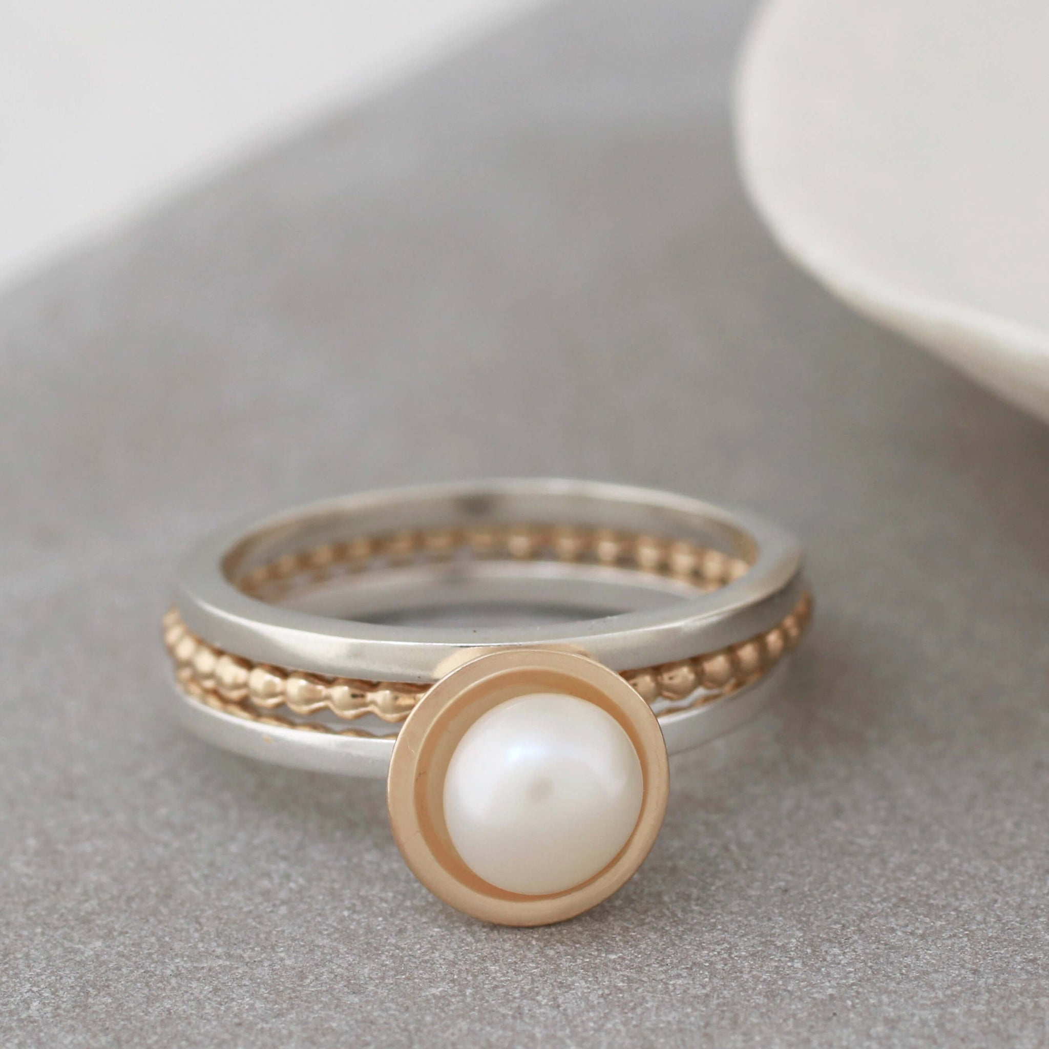 9ct gold dainty rings
