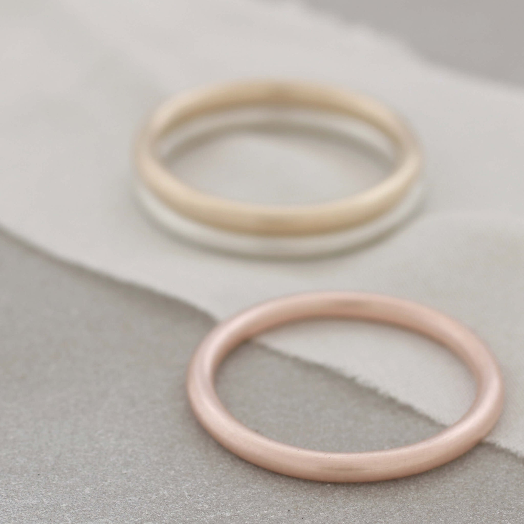 simple 9ct gold ring
