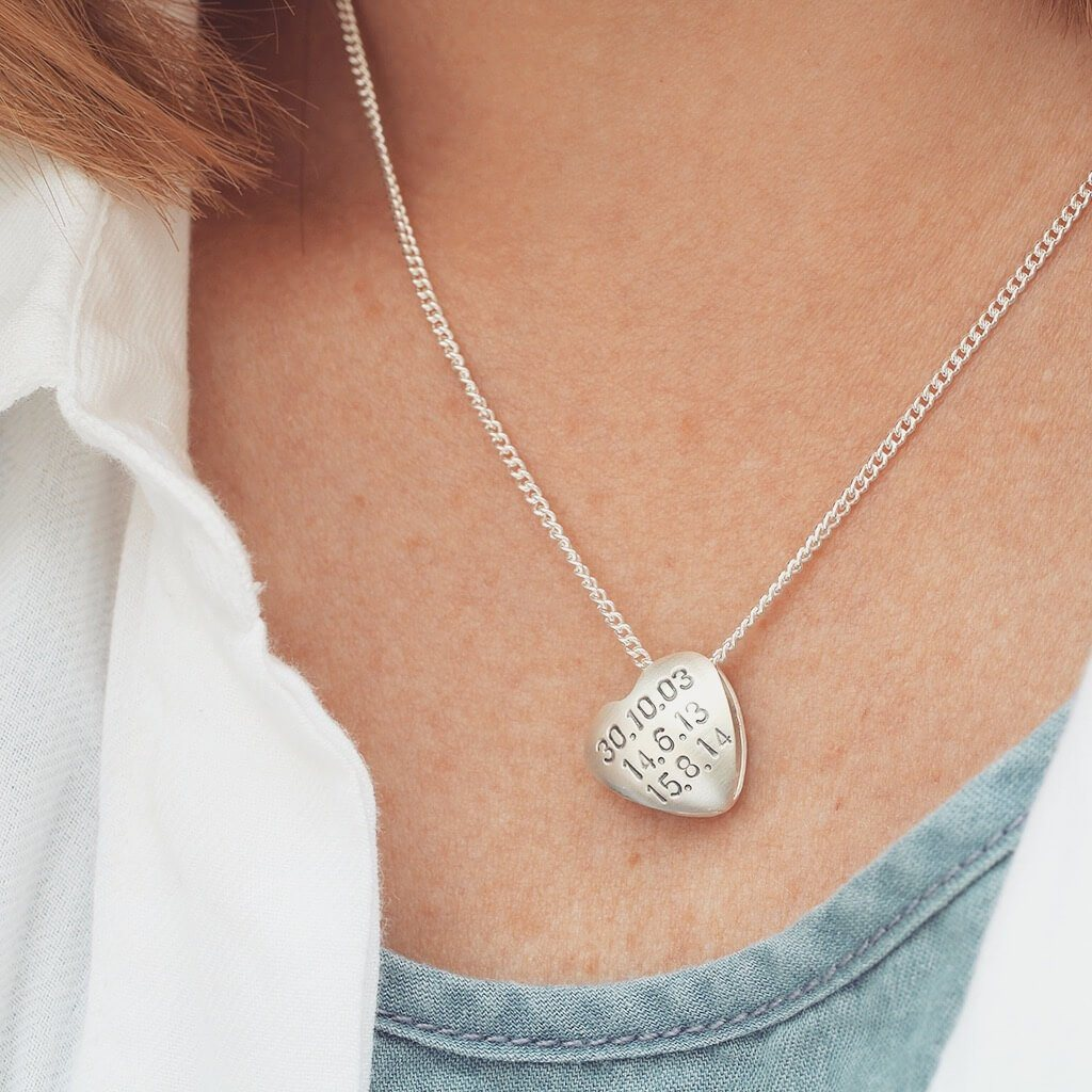 anniversary gift necklace for her