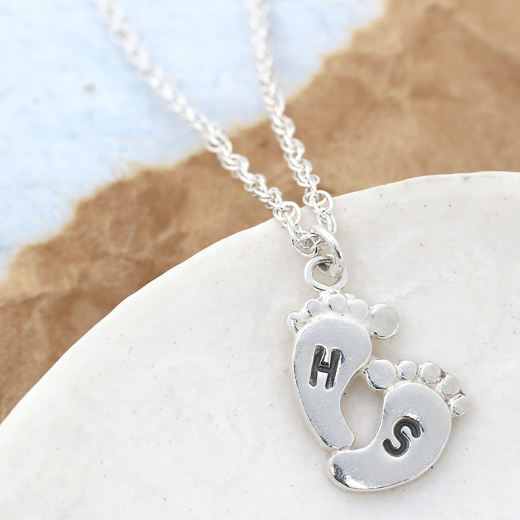 Personalised New Mum Pendant
