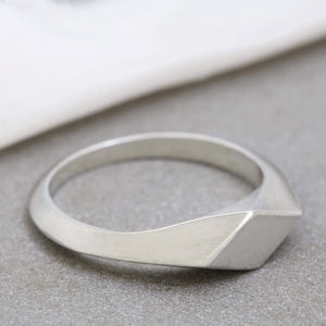 Chunky womens ring