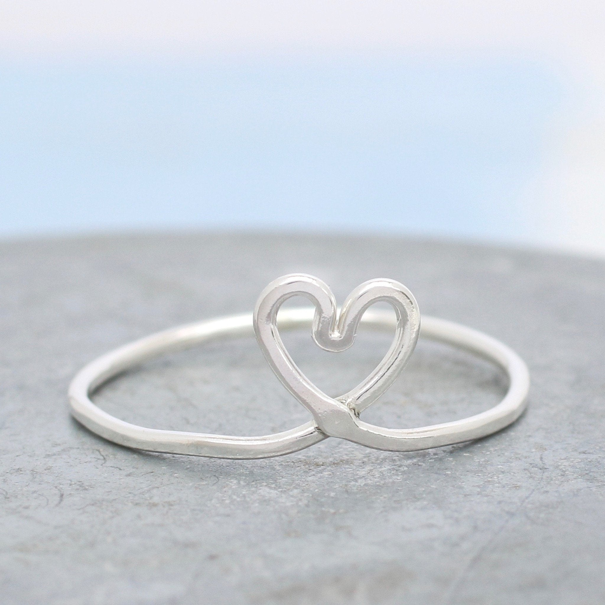 valentines love symbol ring