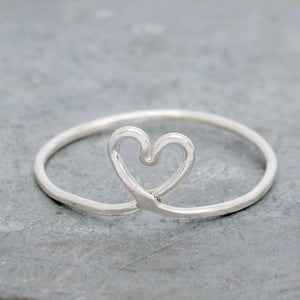 twisted knot ring