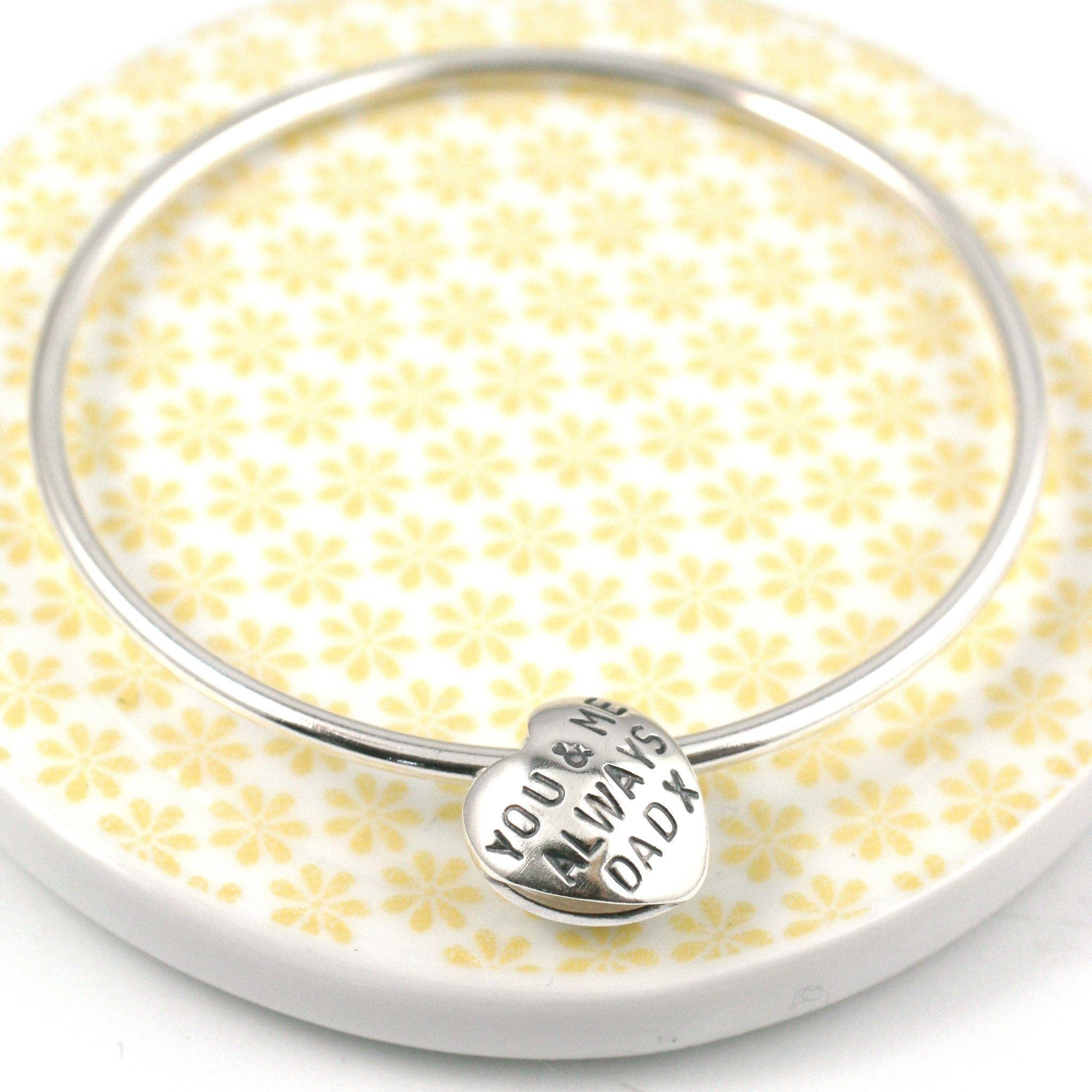 engraved bracelet for her