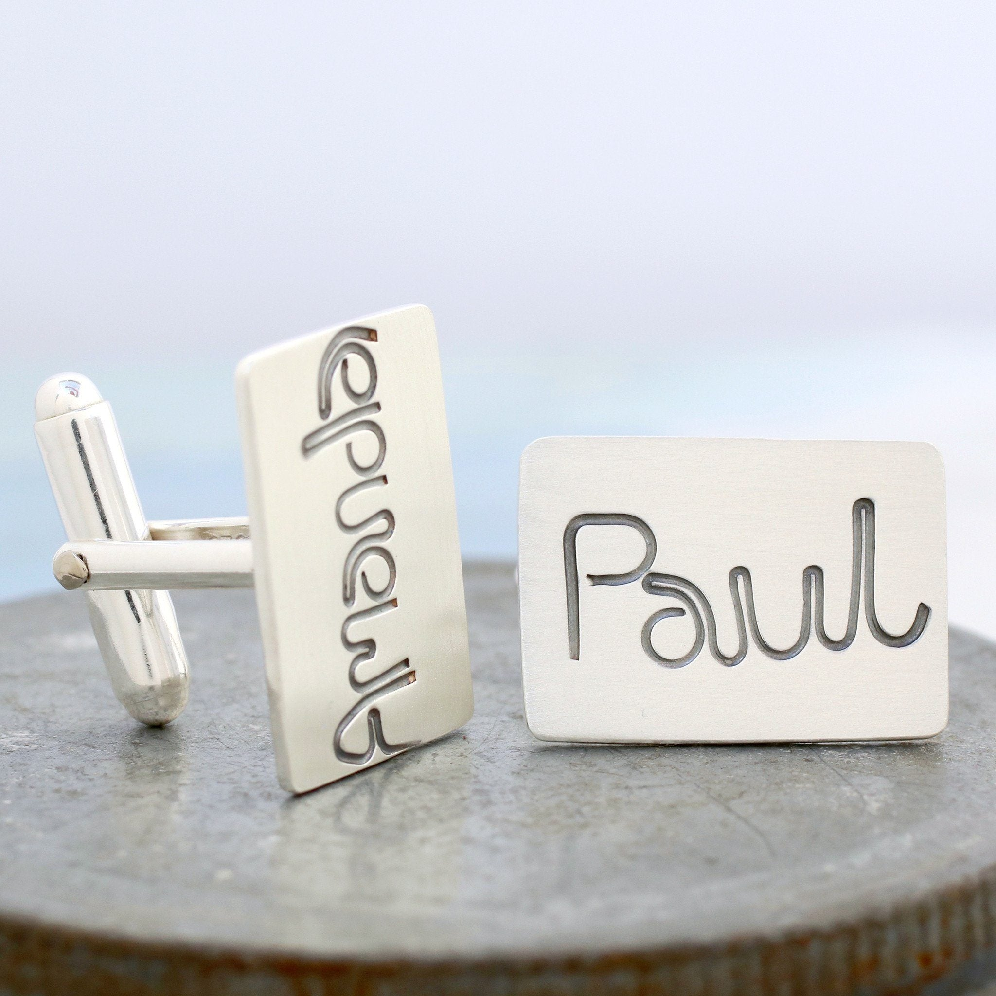 custom name cufflinks