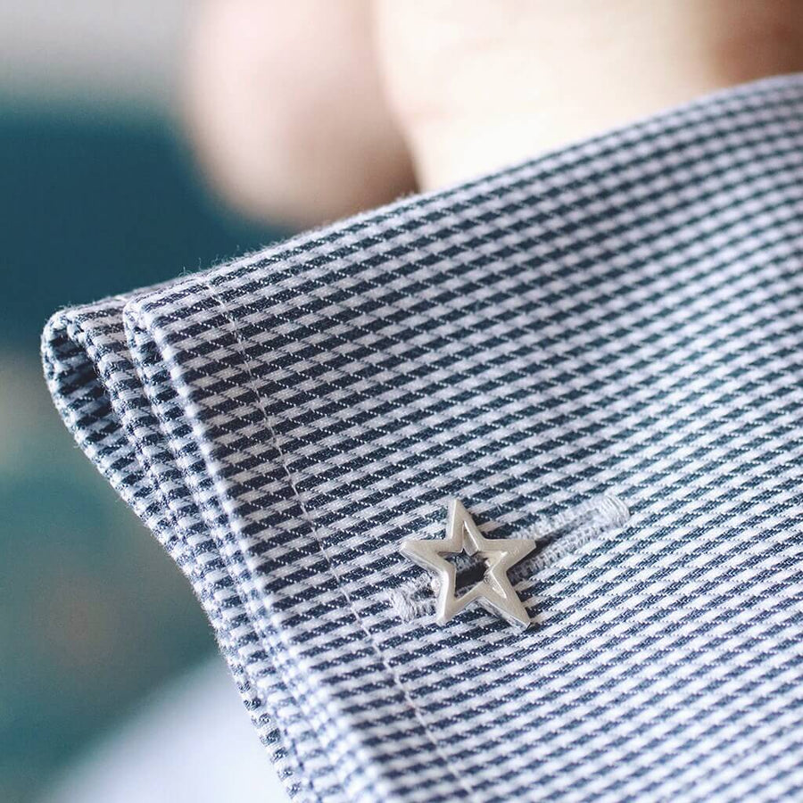Geometric Star Cufflinks