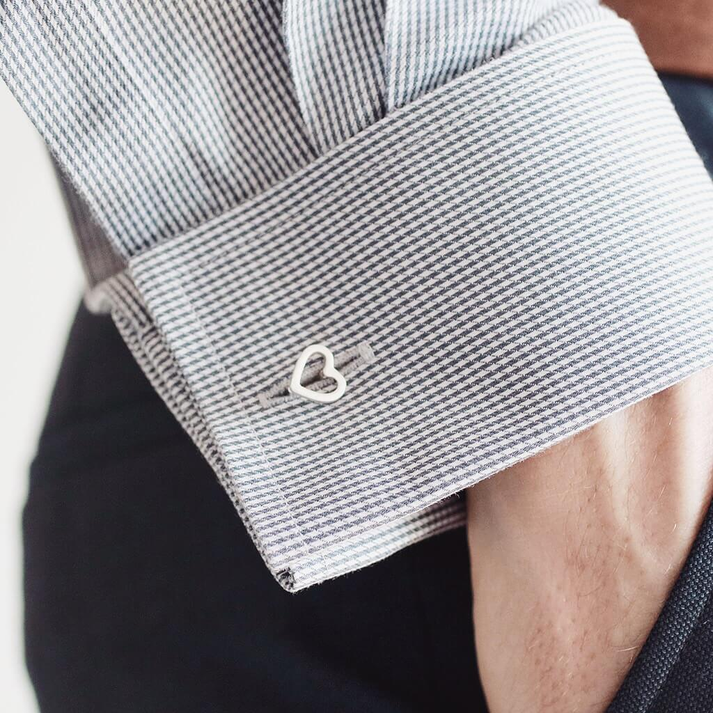 Valentines cufflinks gift for him