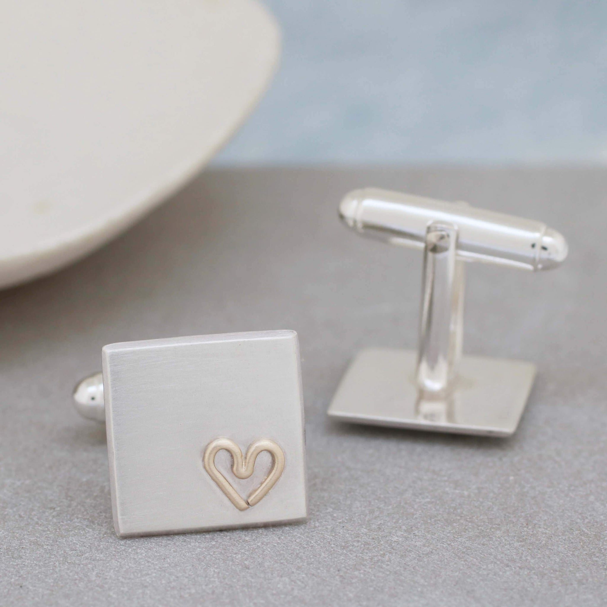 Personalised Wedding Cufflinks for him