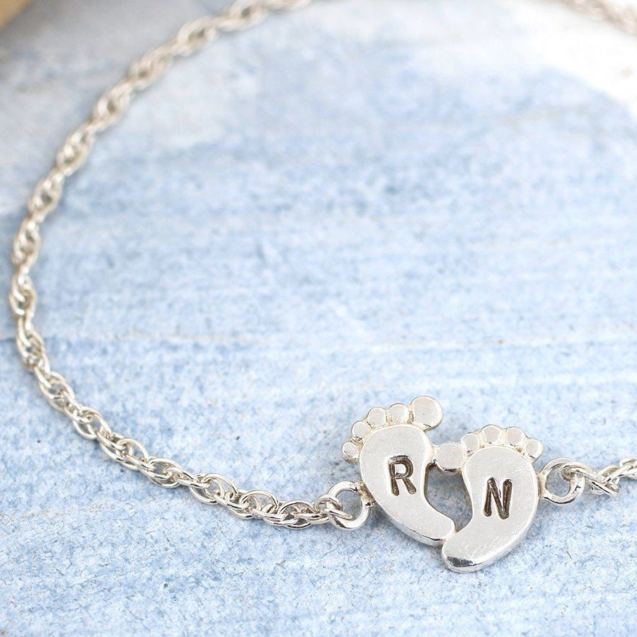 Personalised New Mum Bracelet