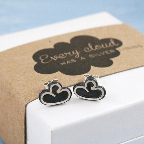 Every Cloud Silver Lining Earrings