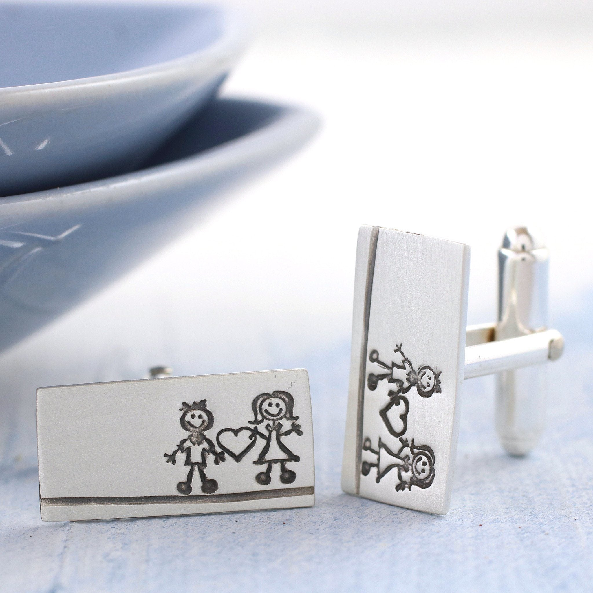 Valentine's Day cufflinks fot him