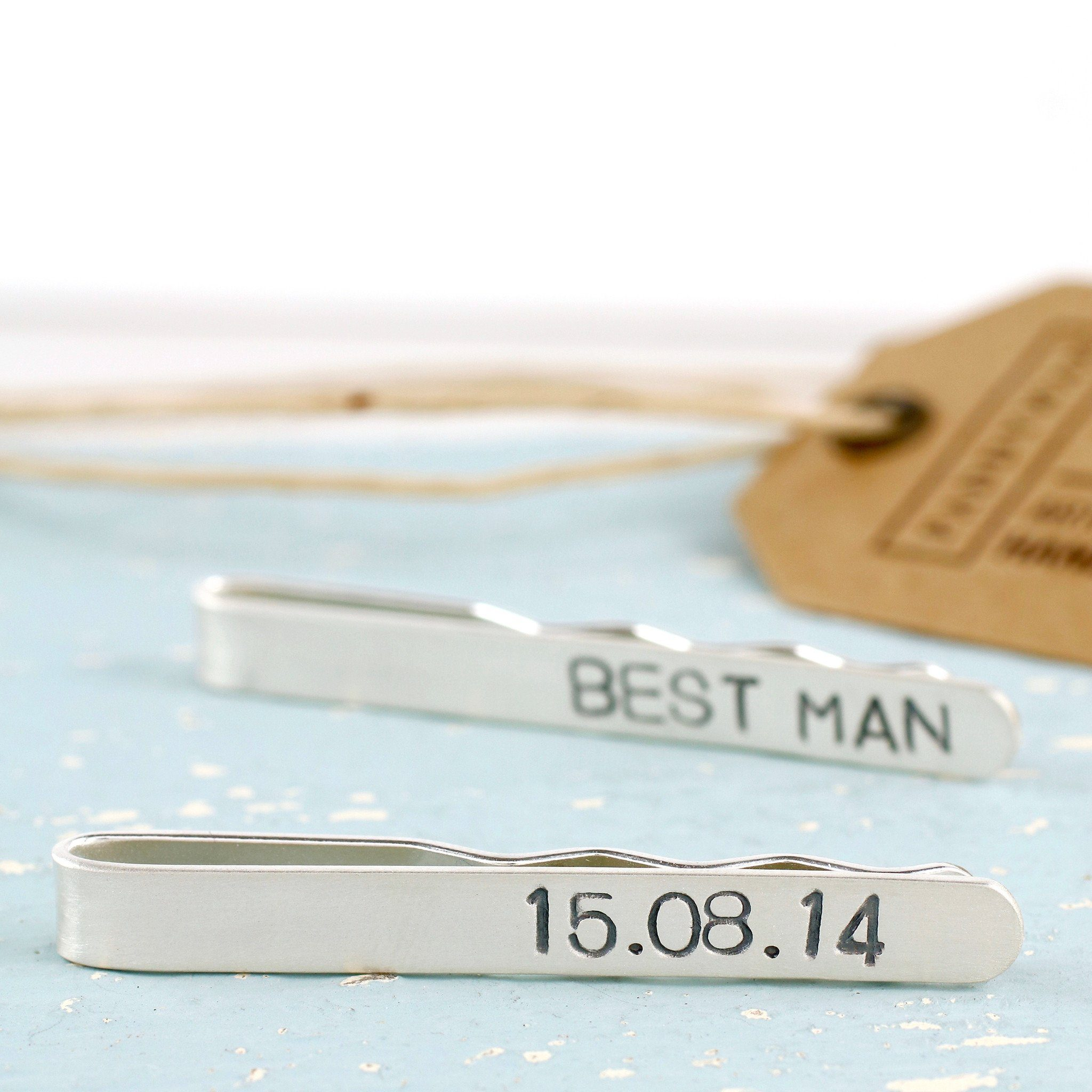 best man tie slide