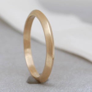 9ct gold stacking rings