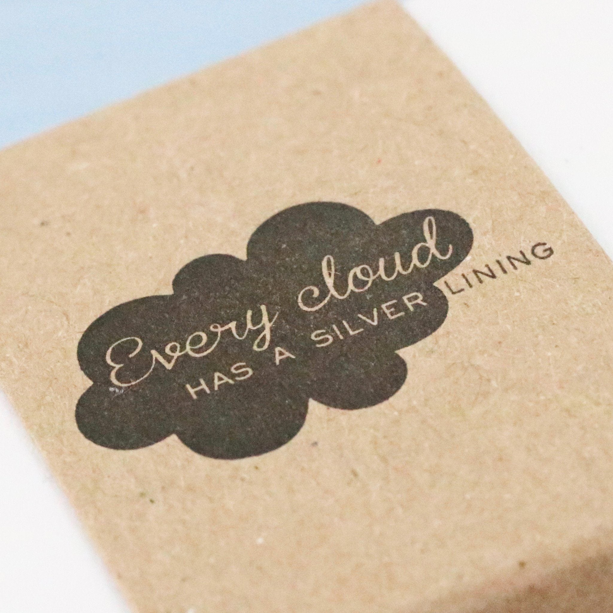 Every Cloud has a silver lining gift box