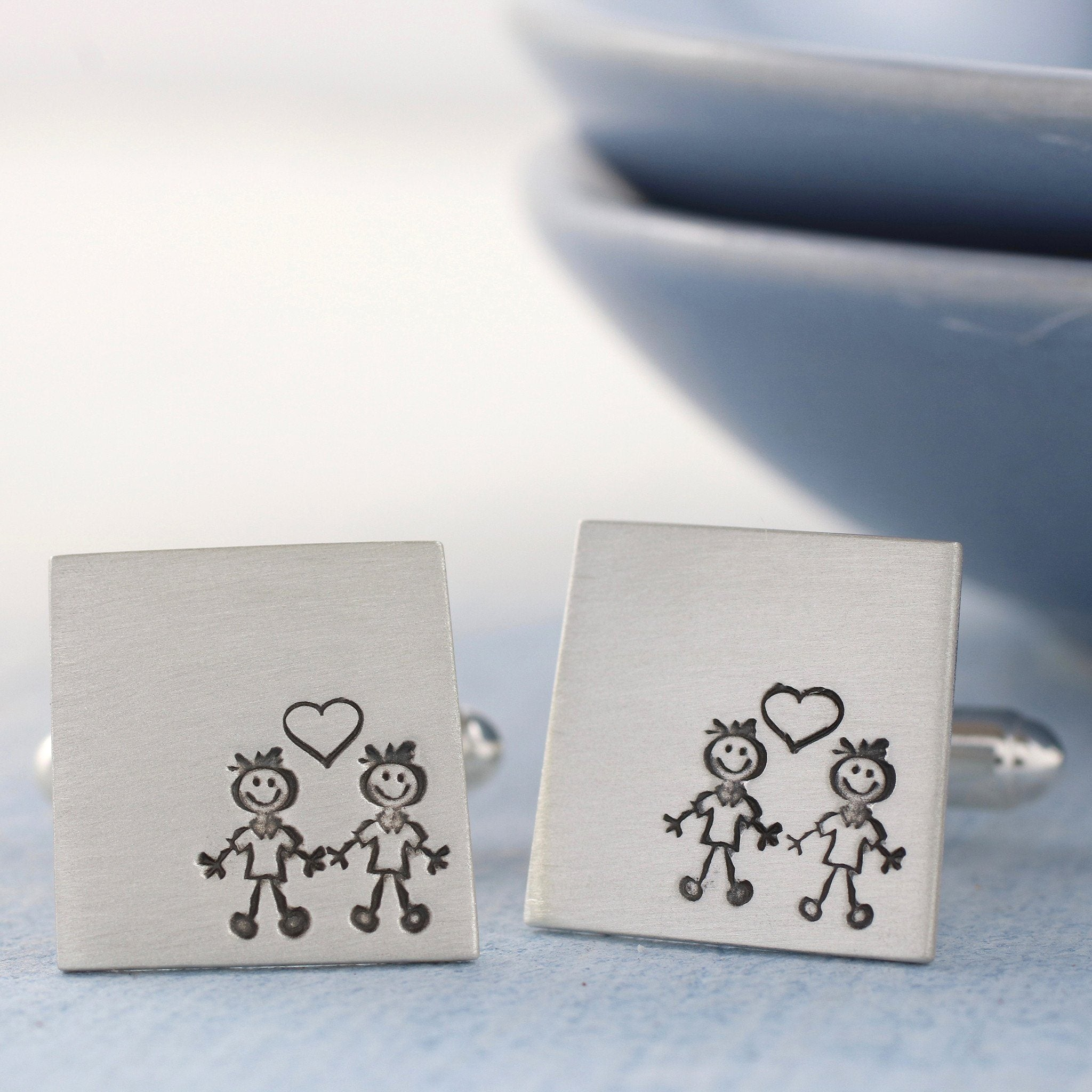 groom and groom cufflinks