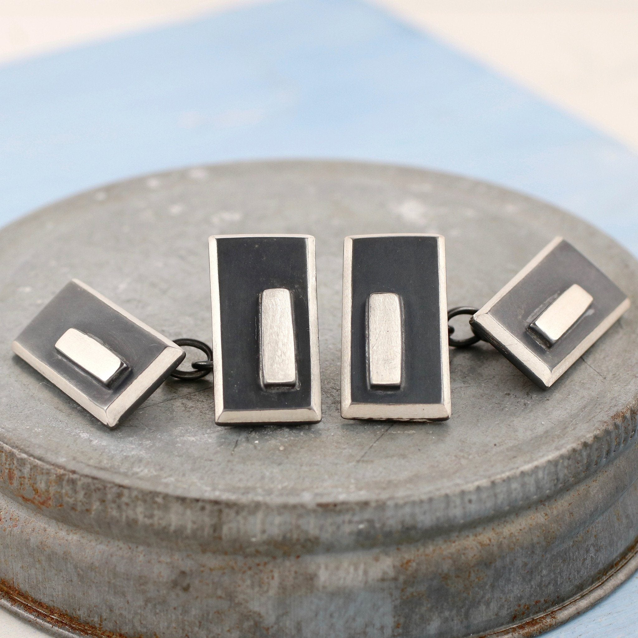 Double Sided Chain Cufflinks