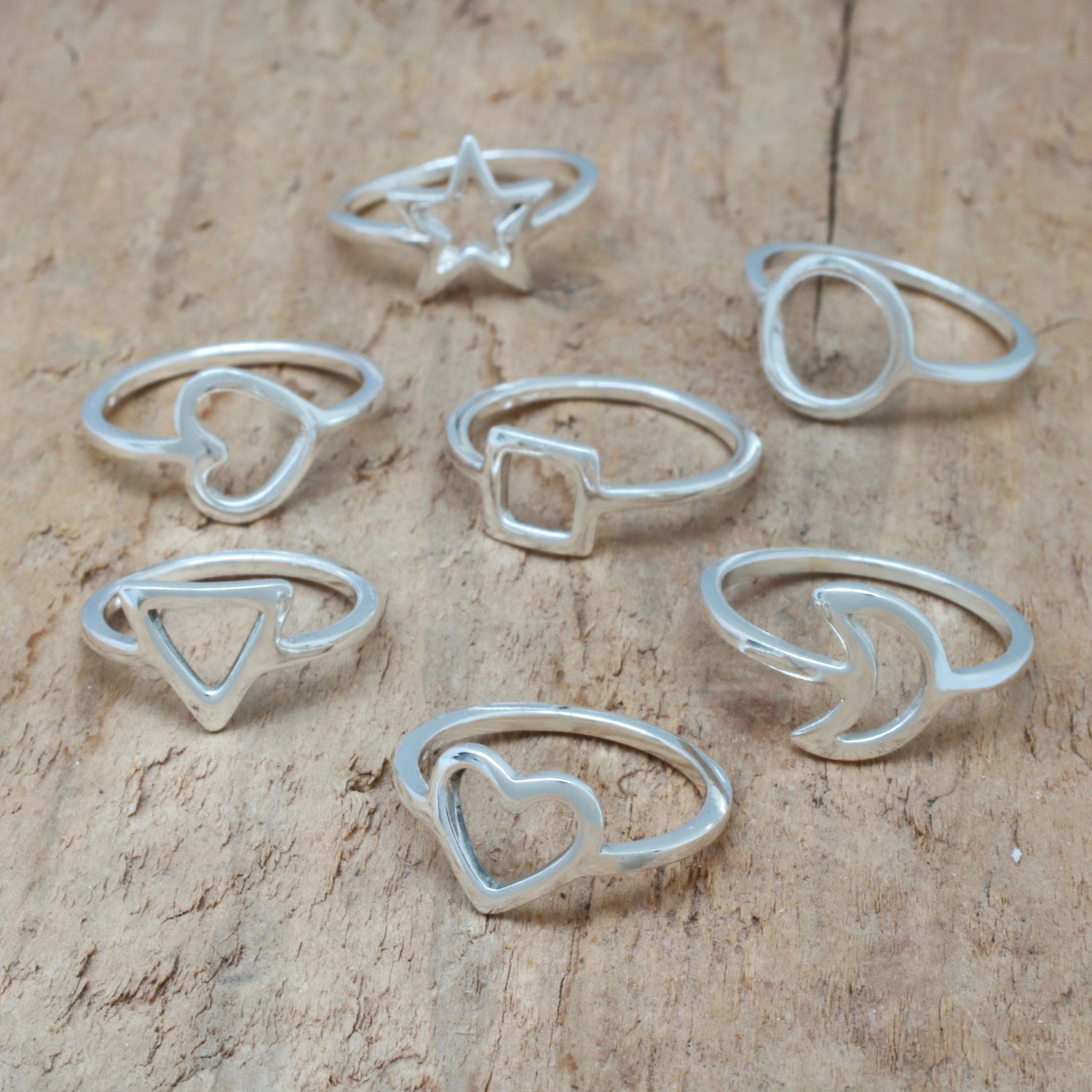 simple shape rings