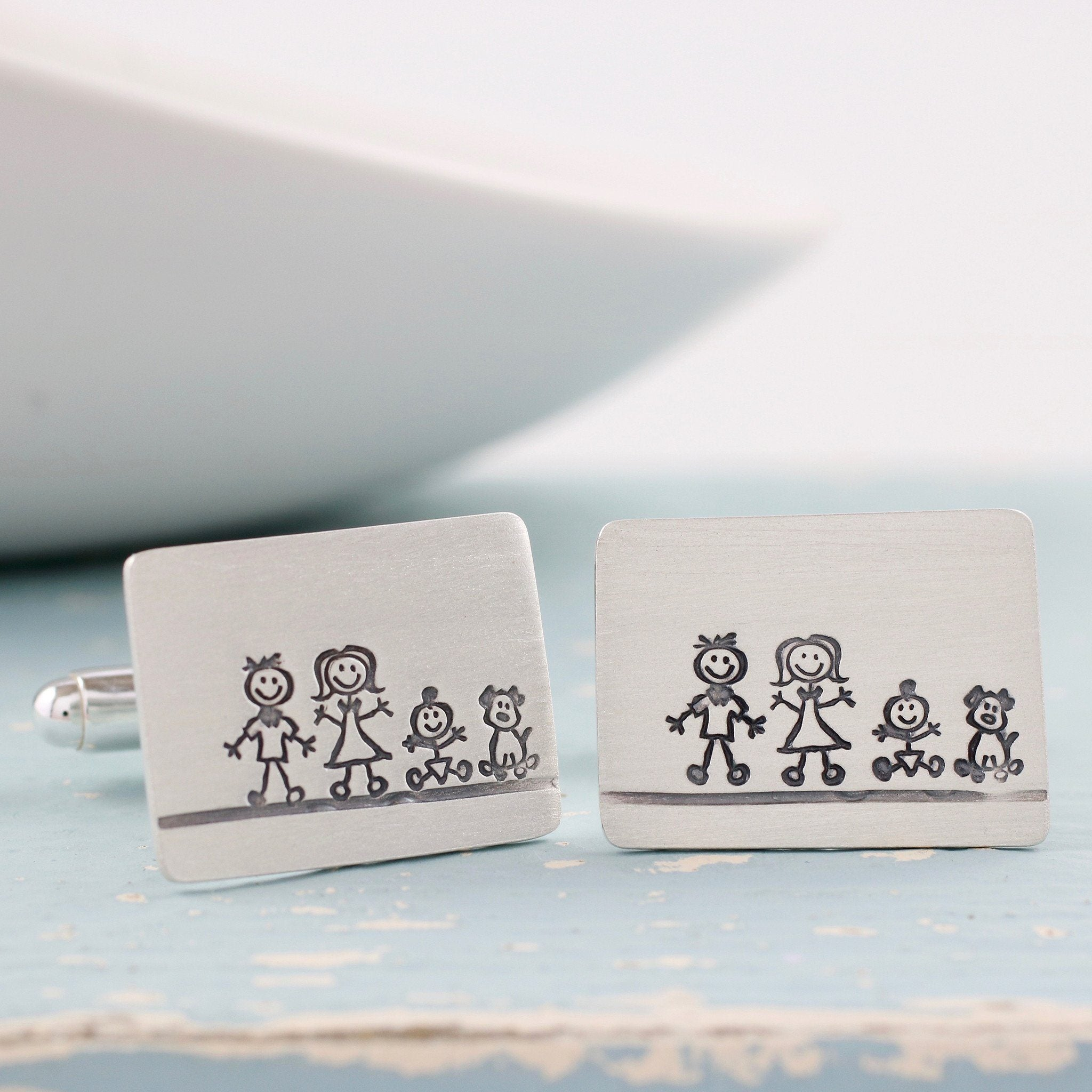 Personalised Fathers day cufflinks