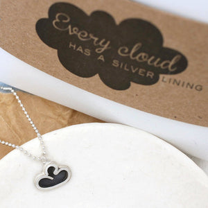 positive thinking necklace gift