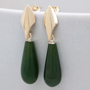 Art Deco dropper earrings
