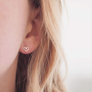 Tiny 9ct Gold Earrings