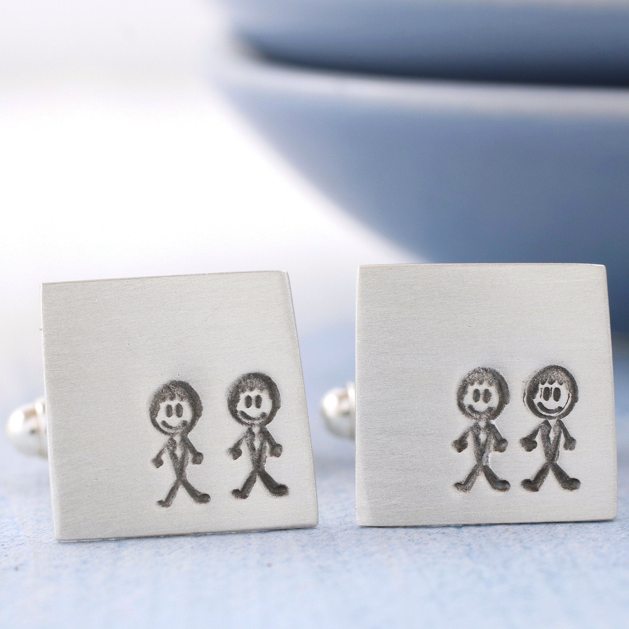 Groom and groom wedding cufflinks